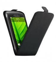 Etui cuir noir BlackBerry Torch 9860