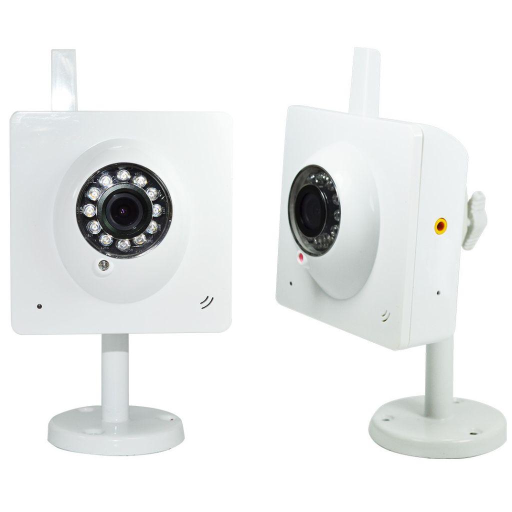 Kit 2 Camera IP Heden VisionCam Cloud V1.7 Blanc