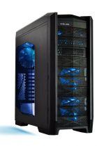Helios Boîtier PC Prophecy LED Bleu - A8119B30