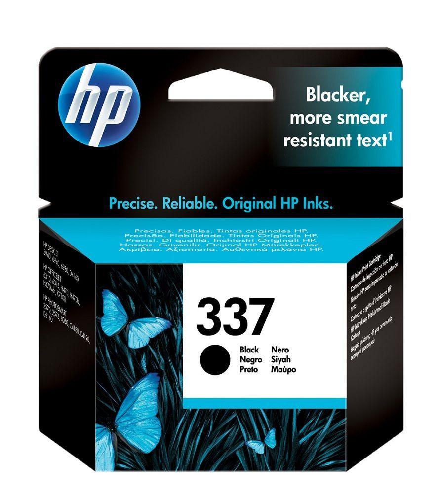 HP N°337 - C9364EE - Cartouche Noire