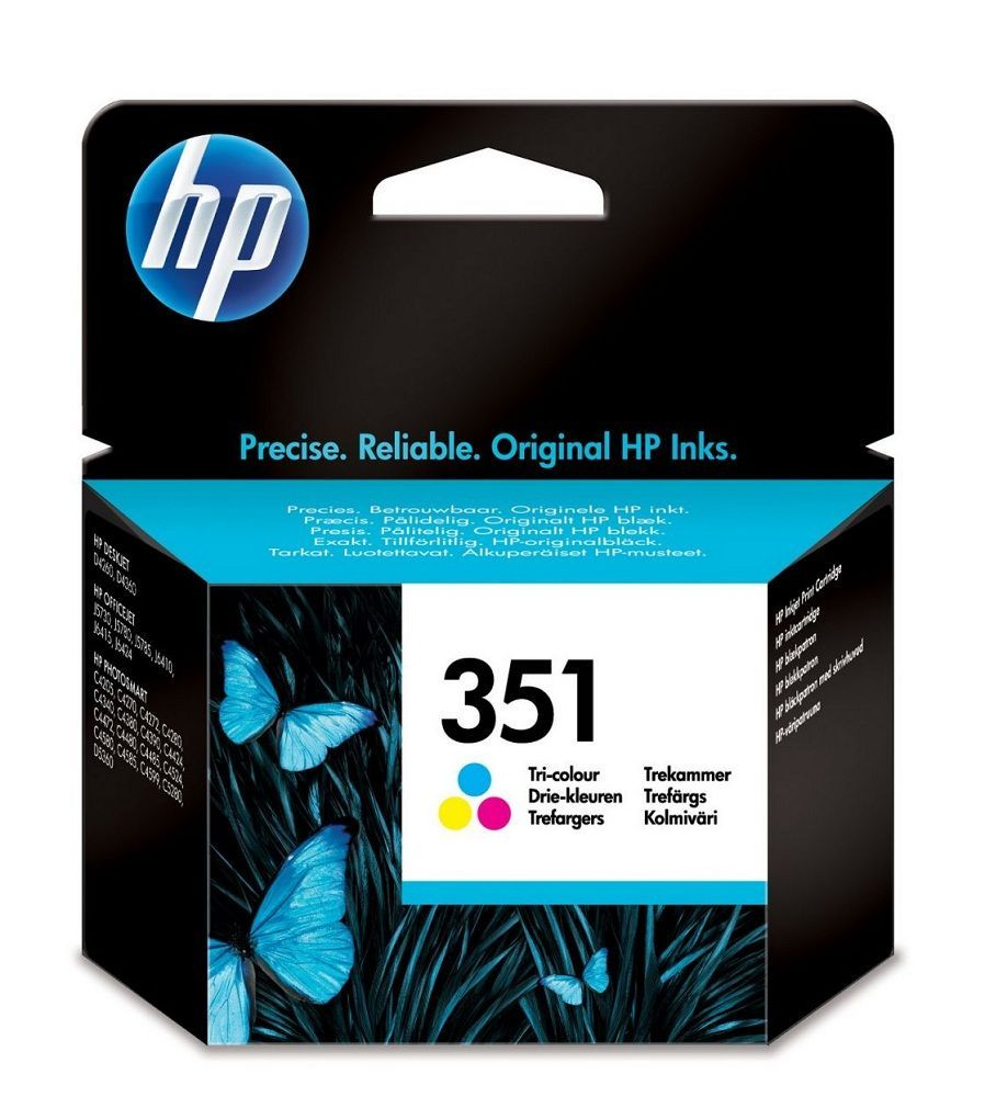 HP N°351 - CB337EE - Cartouche 3 couleurs