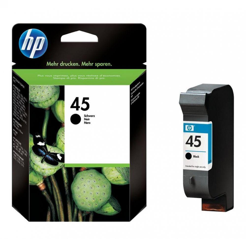 HP N°45 - 51645AE - Cartouche Noire Haute capacité