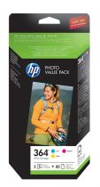 HP Value Pack Photo N°364 - CH082EE 3 couleurs