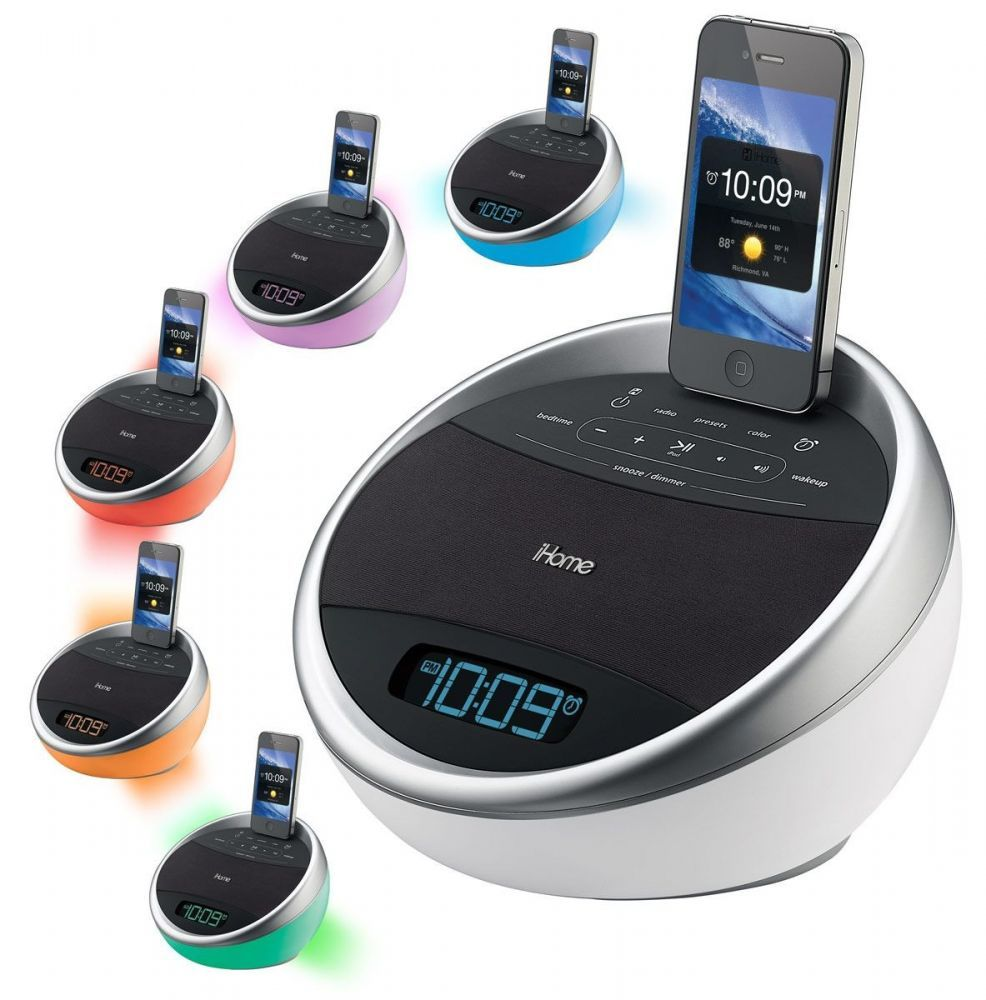 ihome ia17 station d 39 accueil iphone ipod achat vente ihome ia17 sur achat. Black Bedroom Furniture Sets. Home Design Ideas