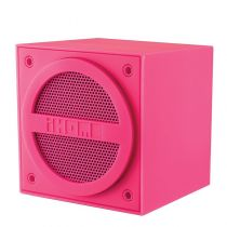 iHome iBT16 Enceinte nomade bluetooth cube Pink