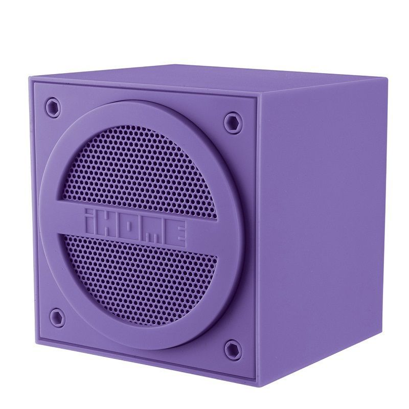 ihome ibt16 purple enceinte nomade bluetooth achat. Black Bedroom Furniture Sets. Home Design Ideas