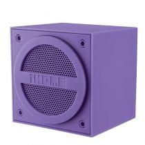 iHome iBT16 Enceinte nomade bluetooth cube Purple