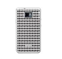iLuv Coque rigide noire Protec Samsung Galaxy S2