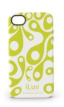 iLuv Coque silicone Aurora Blanche iPhone 4/4S