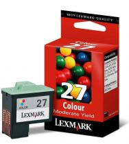 LEXMARK - Cartouche N°27 - 3 Couleurs