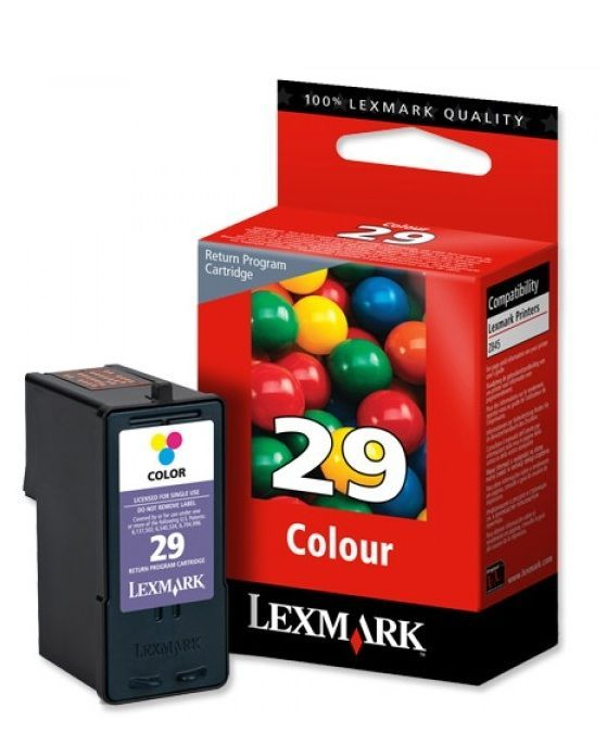 LEXMARK - Cartouche N°29 - 3 Couleurs