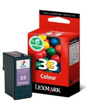 LEXMARK - Cartouche N°33 - 3 Couleurs