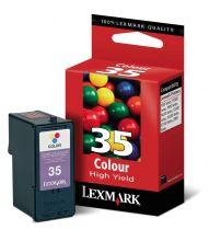 LEXMARK - Cartouche N°35 XL - 3 Couleurs
