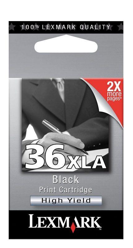 LEXMARK - Cartouche N°36 XLA Noir