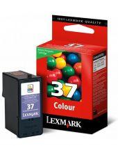 LEXMARK - Cartouche N°37 - 3 Couleurs