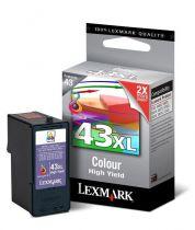LEXMARK - Cartouche N°43 XL - 3 Couleurs