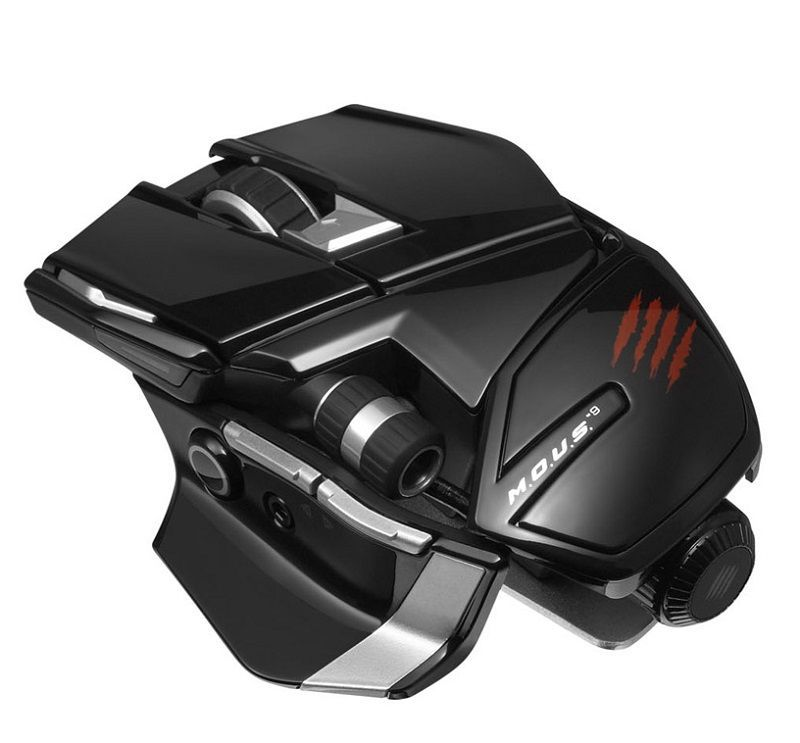 Mad Catz - Cyborg M.O.U.S. 9 Gloss Black