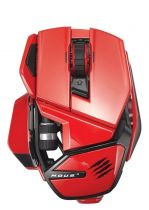 Mad Catz - Cyborg M.O.U.S. 9 Gloss Red