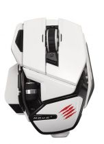 Mad Catz - Cyborg M.O.U.S. 9 Gloss White