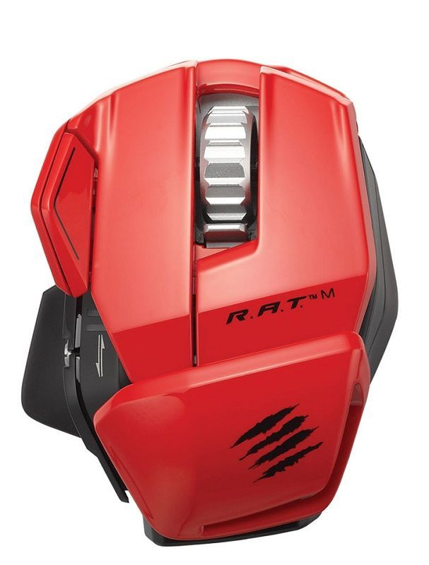 Mad Catz - Cyborg R.A.T. M Gloss Red