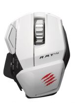 Mad Catz - Cyborg R.A.T. M Gloss White