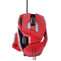 Mad Catz Souris Cyborg M.M.O 7 Gloss Red - MCB437130013/04/1