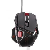 Mad Catz Souris Cyborg R.A.T 5 Gloss Black - MCB4370500C2/04/1