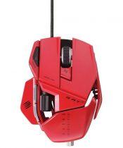 Mad Catz Souris Cyborg R.A.T 5 Gloss Red - MCB437050013/04/1