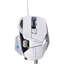 Mad Catz Souris Cyborg R.A.T 7 Gloss White - MCB4370800C1/04/1