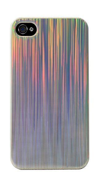 Modelabs Coque rigide effet rainbow iPhone 4/4S