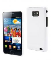 MUVIT - Coque Glossy Blanc pour Samsung Galaxy SII