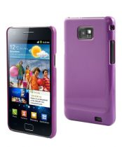 MUVIT - Coque Glossy Mauve pour Samsung Galaxy SII
