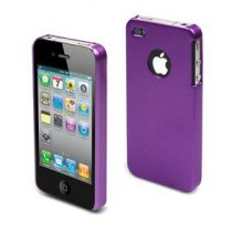 MUVIT - Coque metal violet pour iPhone 4/4S