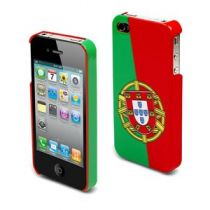 MUVIT - Coque rigide drapeau Portugal pour iphone 4/4s
