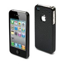 MUVIT - Coque rigide noire gouttes d\'eau pour iphone 4/4s