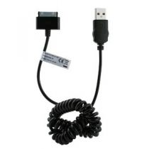 MUVIT - Cordon USB noir iPhone-iPod