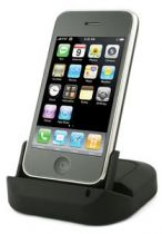 MUVIT - Station de recharge noire pour iPhone