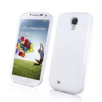 Muvit Coque silicone minigel blanc Samsung Galaxy S4