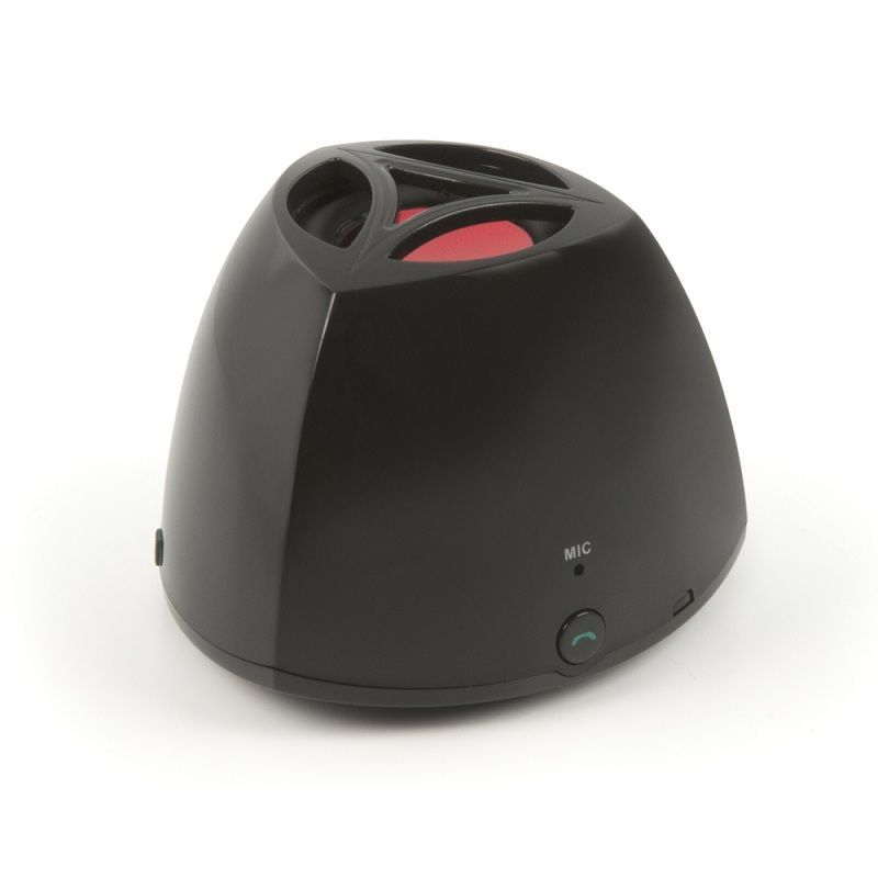 Muvit Enceinte bluetooth noire rechargeable - MUSSP0005