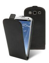 Muvit etui clapet cassandra noir Made In Paris Samsung Galaxy S3 4G i9300