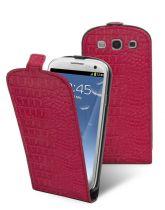 Muvit etui clapet croco fushia Made in Paris Samsung S3 4G i9300