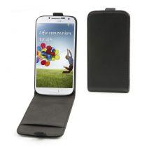 Muvit Etui clapet slim noir Samsung Galaxy S4