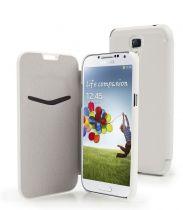 Muvit Etui flip folio blanc Samsung Galaxy s4