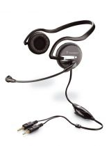 Plantronics Audio 345 Micro-casque PC
