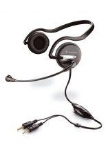 Plantronics Audio 345 Micro-casque PC
