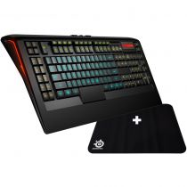 Steelseries Apex + Tapis Qck