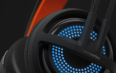 SteelSeries Siberia 350 Noir