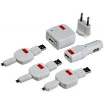 Swiss Charger MicroPack - Chargeur universel micro USB spécial Smartphone