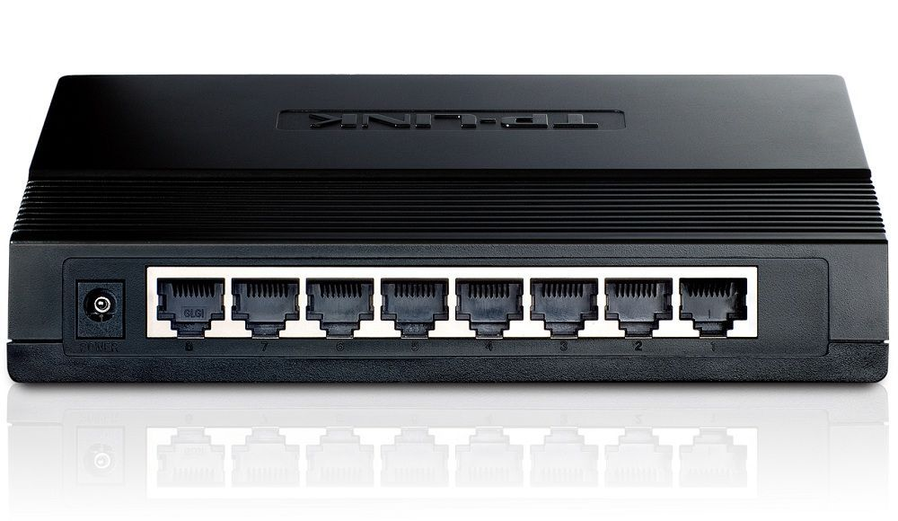 TP-Link TL-SG1008D Switch 8 Ports 10/100 Mbps