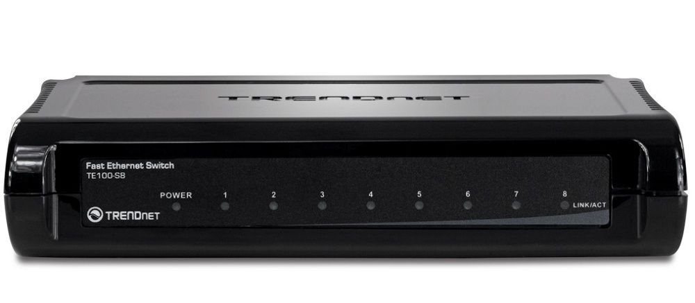 TrendNet TE100-S8 Switch 8 Ports 10/100 Mbps